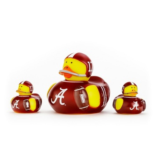 Alabama Crimson Tide All Star Toy Rubber Ducks