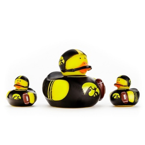 Iowa Hawkeyes All Star Toy Rubber Ducks