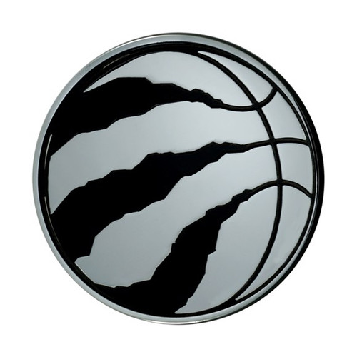 Toronto Raptors Chrome Metal Emblem