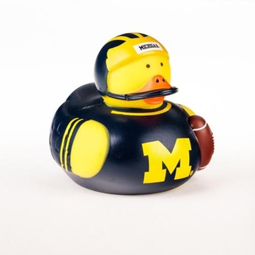 Michigan Wolverines Rubber Duck Toy