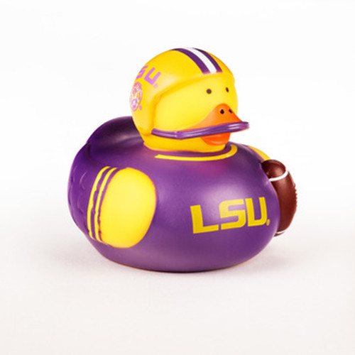 LSU Tigers Rubber Duck Toy