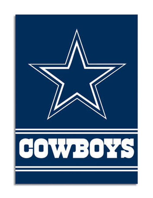 Dallas Cowboys 2 Sided House Banner