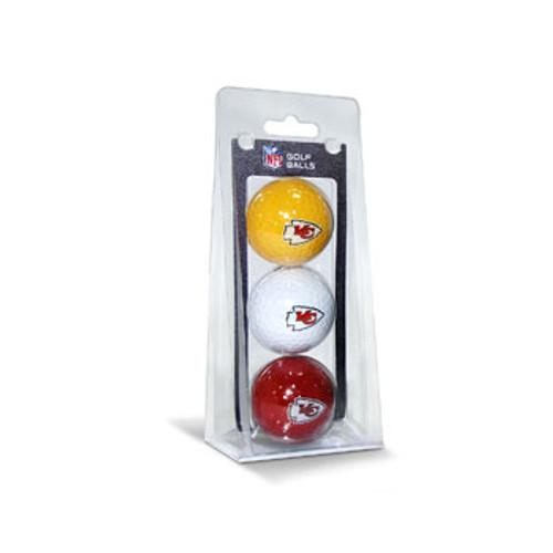 Kansas City Chiefs Golf Balls