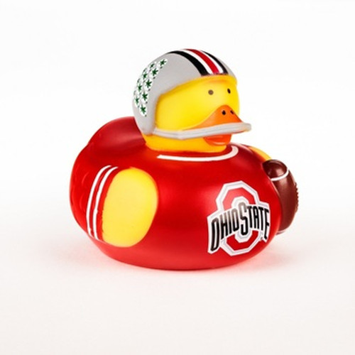 Ohio State Buckeyes Rubber Duck Toy