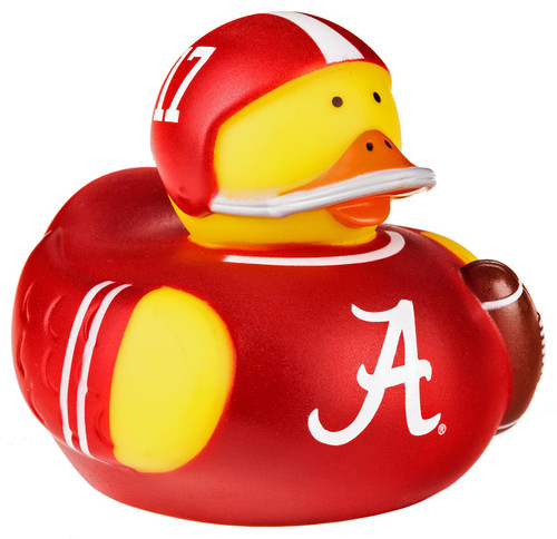Alabama Crimson Tide All Star Toy Rubber Duck