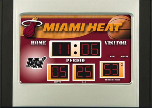 Miami Heat Alarm Clock Scoreboard