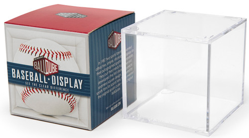 Baseball Display Case - Square Holder