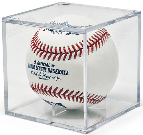 Grandstand Baseball Display Case with Cradle Base