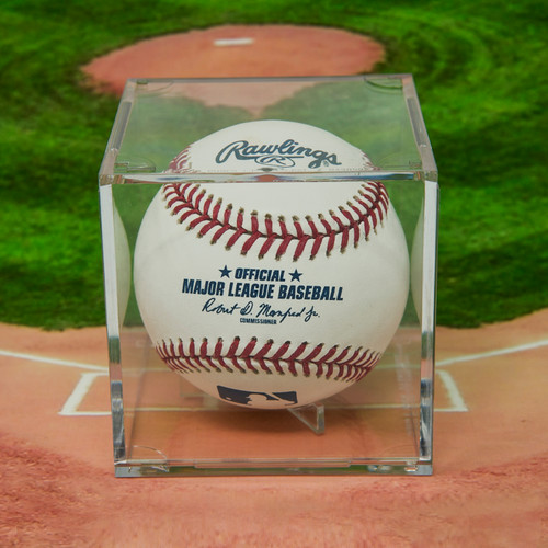 UV Protected Grandstand Baseball Display Case