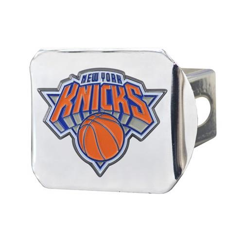 New York Knicks Color Chrome Hitch Cover