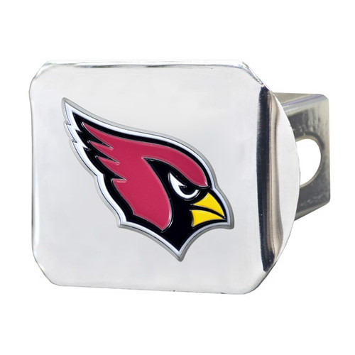 Arizona Cardinals Color Chrome Hitch Cover
