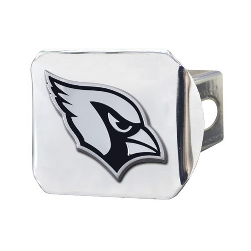 Arizona Cardinals Chrome Hitch Cover