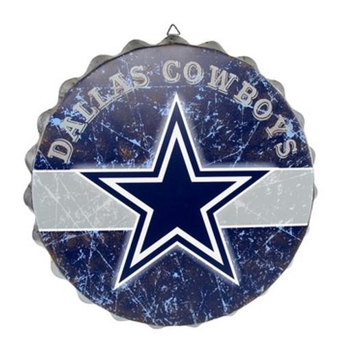 Dallas Cowboys Bottle Cap Sign