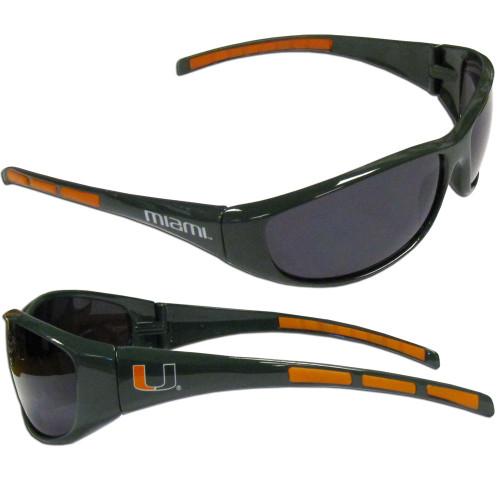 Miami Hurricanes Wrap Sunglasses
