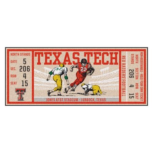 Texas Tech Red Raiders Ticket Runner