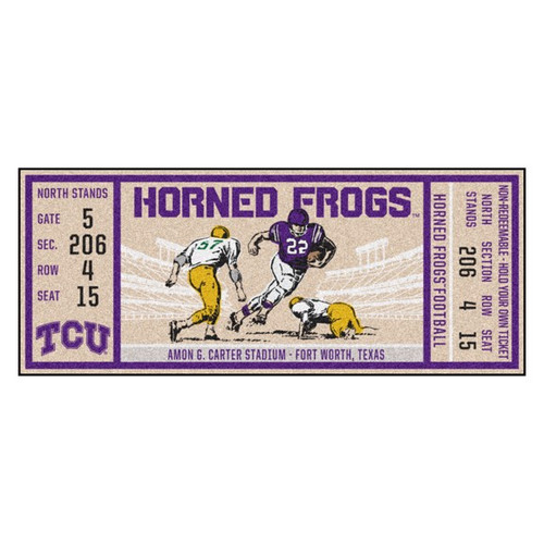 TCU Horned Frogs Ticket Runner
