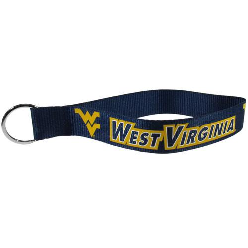 West Virginia Mountaineers Lanyard Key Chain