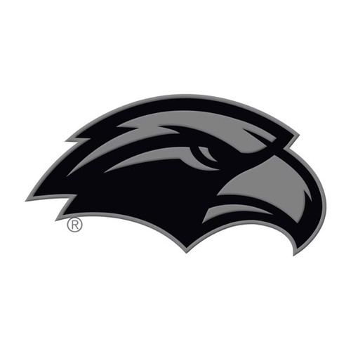 Southern Miss Chrome Metal Emblem - Eagle Logo