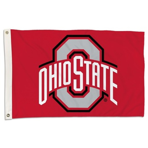 Ohio State Buckeyes Flag Banner