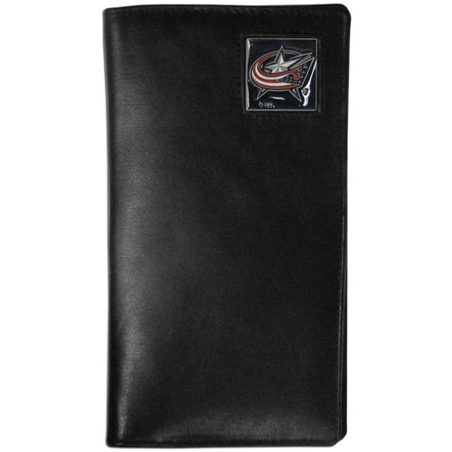 Columbus Blue Jackets Leather Tall Wallet