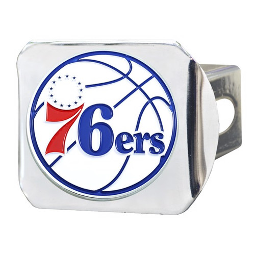 Philadelphia 76ers Color Chrome Hitch Cover