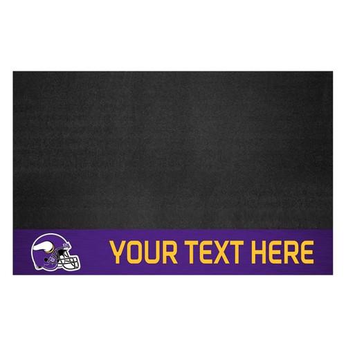 Minnesota Vikings Personalized Grill Mat