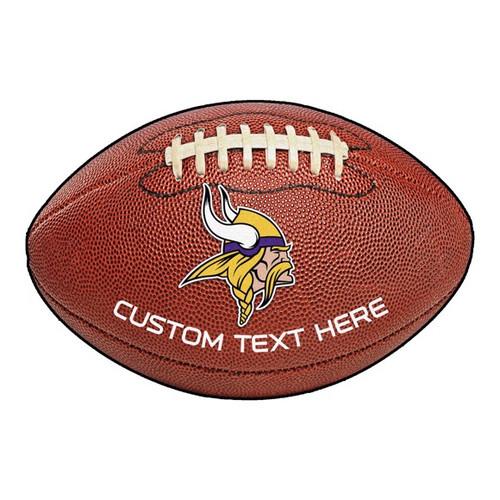 Minnesota Vikings Personalized Football Mat
