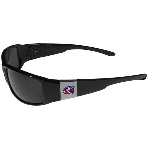 Columbus Blue Jackets Chrome Wrap Sunglasses Color