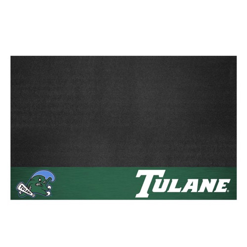Tulane Green Wave Grill Mat