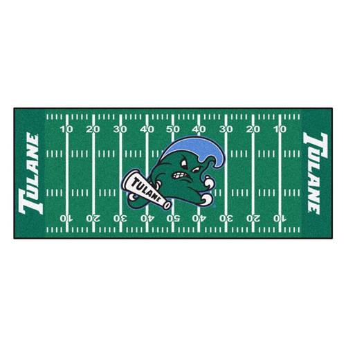 Tulane Green Wave NCAA Football Field Runner