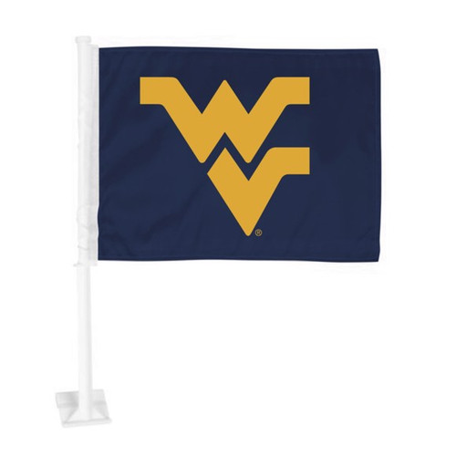 West Virginia Mountaineers Car Flag