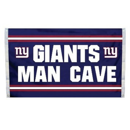 New York Giants Man Cave Flag