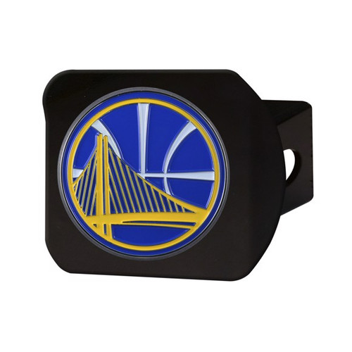 Golden State Warriors Black Hitch Cover - Color