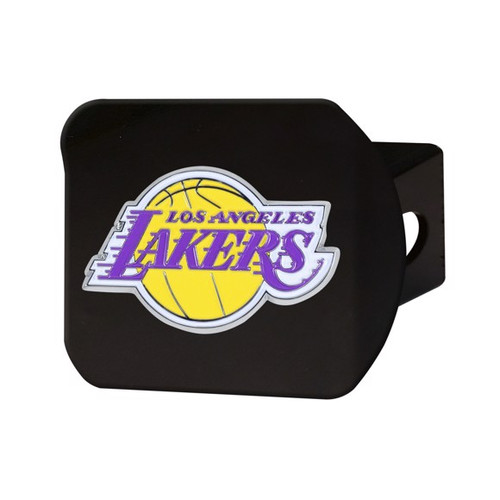 LA Lakers Black Hitch Cover - Color