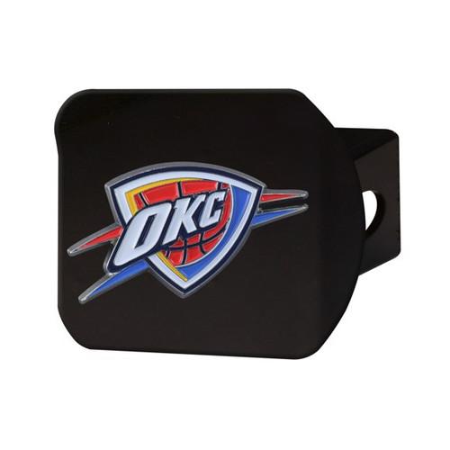 Oklahoma City Thunder Black Hitch Cover - Color