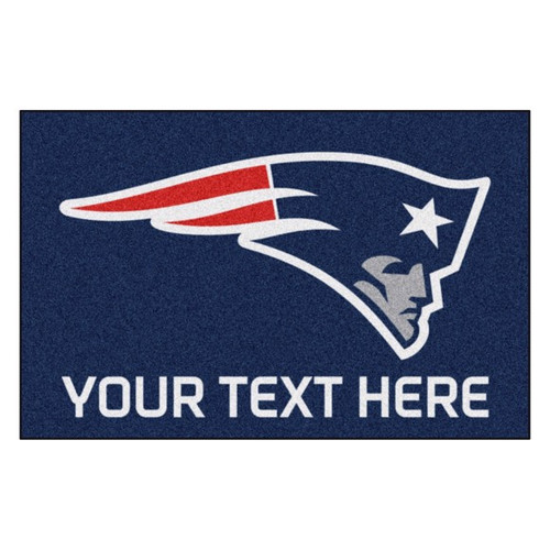 New England Patriots Personalized Mat