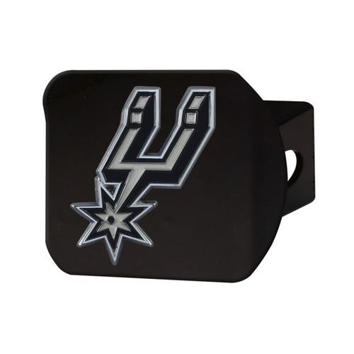 San Antonio Spurs Black Hitch Cover - Color