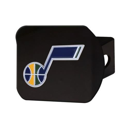 Utah Jazz Black Hitch Cover - Color