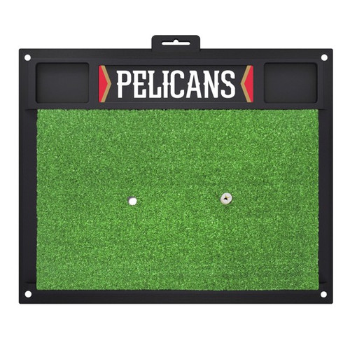 New Orleans Pelicans Golf Hitting Mat