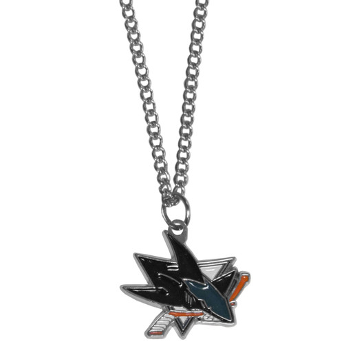 San Jose Sharks Chain Necklace