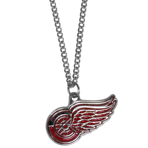 Detroit Red Wings Chain Necklace