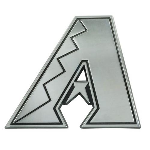 Arizona Diamondbacks Metal Chrome Emblem