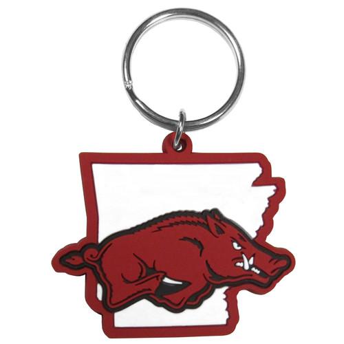 Arkansas Razorbacks Home State Flex Key Chain