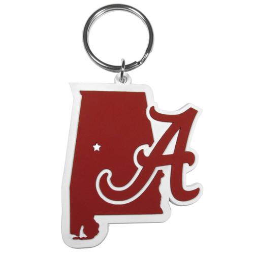 Alabama Crimson Tide Home State Flex Key Chain