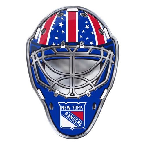 New York Rangers Embossed Helmet Emblem