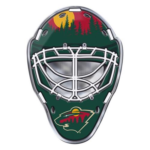 Minnesota Wild Embossed Helmet Emblem
