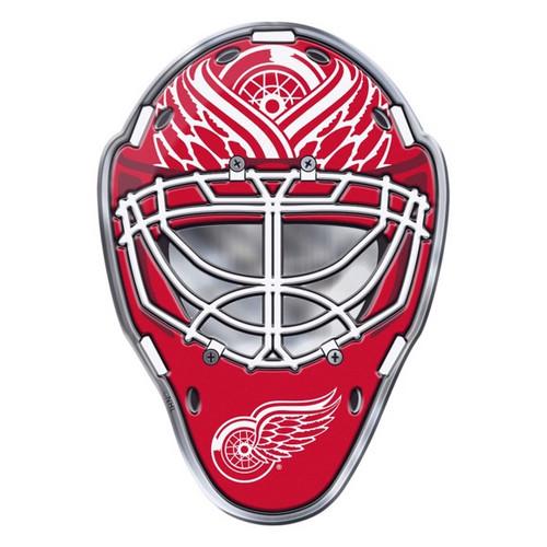 Detroit Red Wings Embossed Helmet Emblem