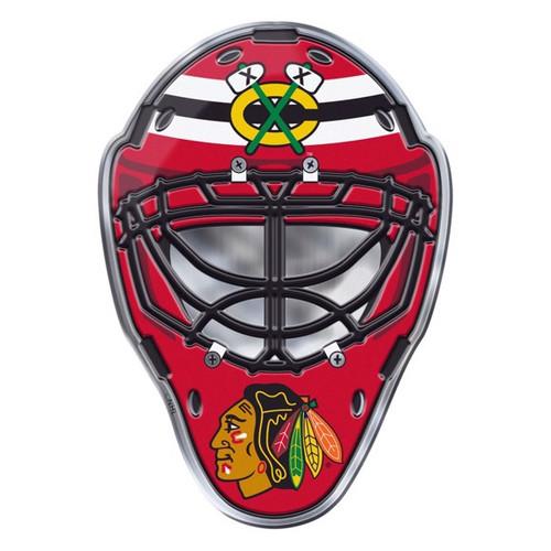 Chicago Blackhawks Embossed Helmet Emblem
