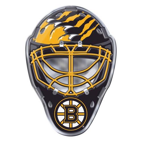Boston Bruins Embossed Helmet Emblem