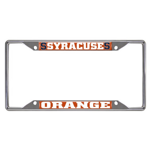 Syracuse University License Plate Frame